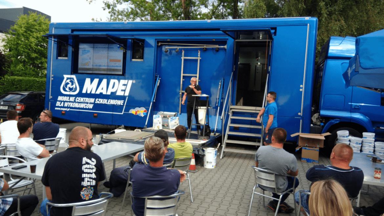 Mobilne centrum szkoleniowe MAPEI