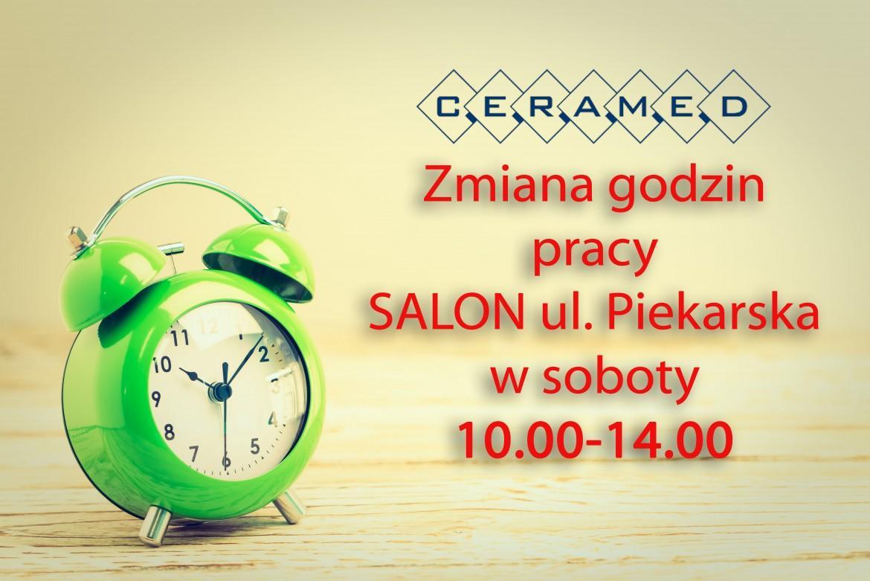Zmiana godzin pracy – Salon ul. Piekarska