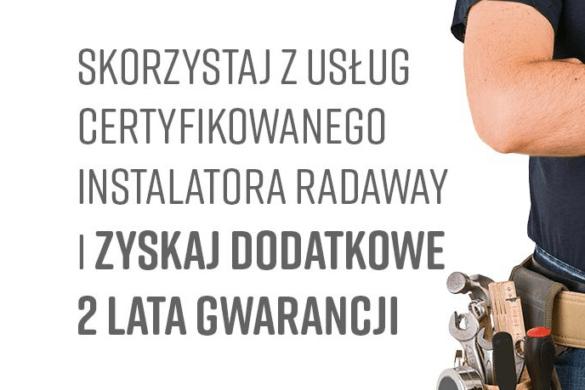 radaway instalator