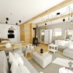 nowoczesny pokój projekt